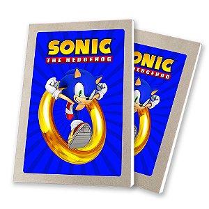5 Bloquinhos de Papel 25 Folhas Sonic