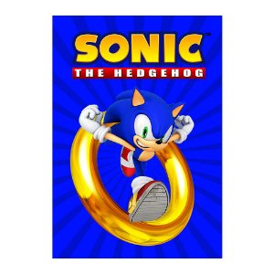 Poster Sonic 30x43 - 1 Unidade