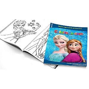 5 Cadernos de Colorir Frozen