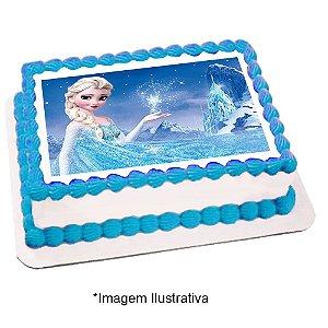 Papel de Arroz Frozen 28x20cm - 1 Unidade