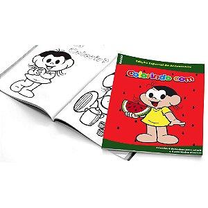 5 Cadernos de Colorir Magali