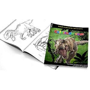 5 Cadernos de Colorir Dinossauros