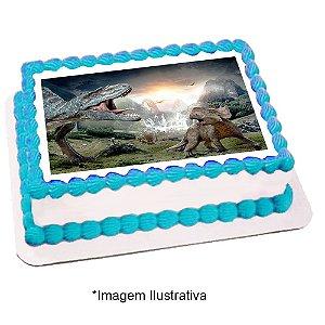 Papel de Arroz Dinossauros 28x20cm - 1 Unidade