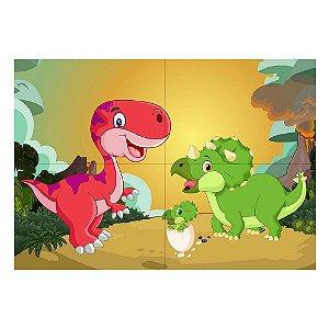 Painel de Festa Decorativo Dinossauros Baby - 1 Unidade
