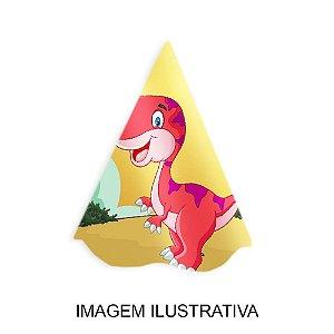 5 Chapéus de Festa Dinossauros Baby
