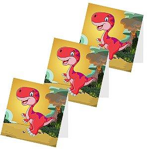 12 Capas de Pirulito Dinossauros Baby
