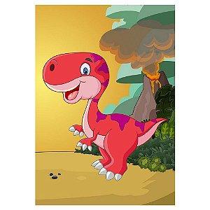 Poster Dinossauros Baby 30x43 - 1 Unidade