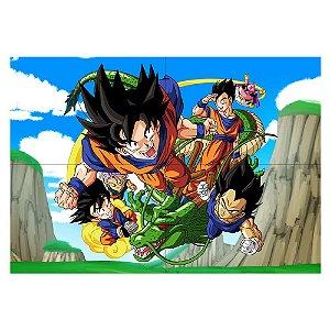 Painel de Festa Decorativo Dragon Ball - 1 Unidade
