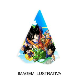 5 Chapéus de Festa Dragon Ball