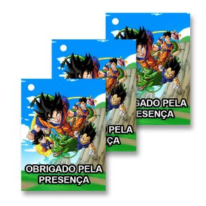 30 Tags Dragon Ball 4x3cm