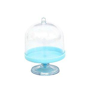 Mini Cúpula Acrílica Azul - 6 Unidades