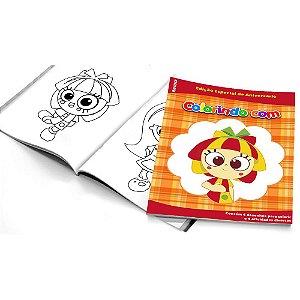 5 Cadernos de Colorir Emília