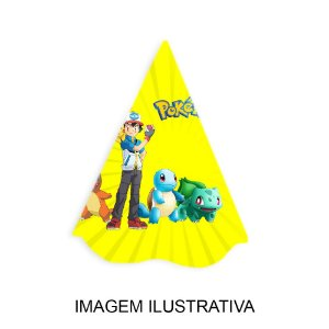 5 Chapéus de Festa Pokémon