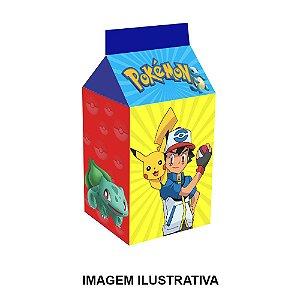 5 Caixinhas Milk Pokémon Para Lembrancinha