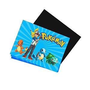 4 Imãs de Geladeira Pokémon 105x148mm