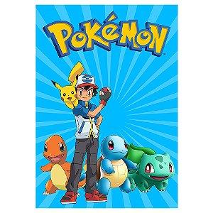 Poster Pokémon 30x43 - 1 Unidade