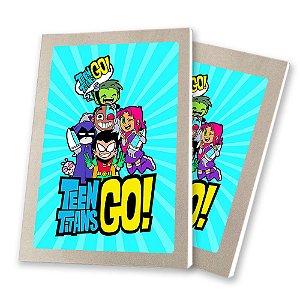 5 Bloquinhos de Papel 25 Folhas Teen Titans