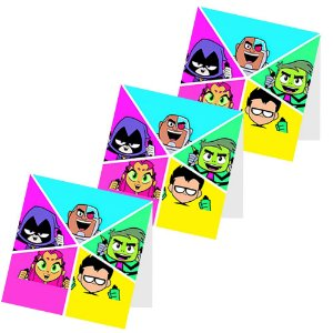 12 Capas de Pirulito Teen Titans