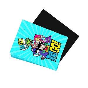 8 Imãs de Geladeira Teen Titans 74x105mm
