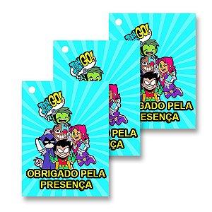 30 Tags Teen Titans 4x3cm