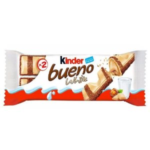Chocolate Kinder Bueno White 39g - 1 Unidade