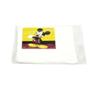 10 Guardanapos Mickey Amarelo e Vermelho