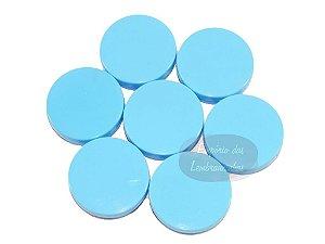 Atacado - Latinhas de Plástico Mint to Be 5,5x1,5 cm Azuis - Kit com 1.000 unids