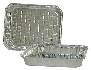Marmitinhas de Alumínio 2000ml para Personalizar - Kit c/ 10 Unids