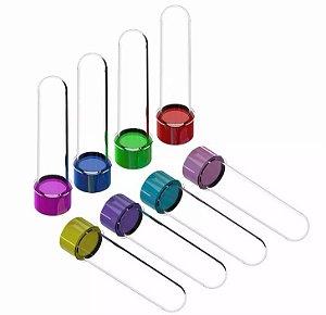 Kit com 100 Tubetes 13cm para Personalizar (Escolha a cor)