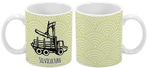 Caneca Profissão 300 ml Silvicultura - 1 unidade
