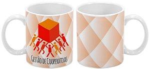 Caneca Profissão 300 ml Gestão de Cooperativas - 1 unidade