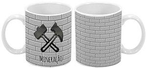 Caneca Profissão 300 ml Mineração - 1 unidade