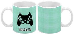 Caneca Profissão 300 ml Jogos Digitais - 1 unidade