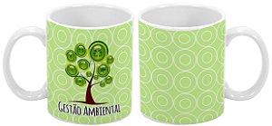 Caneca Profissão 300 ml Gestão Ambiental - 1 unidade
