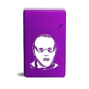 Isqueiro Elétrico Halloween Slasher Hannibal | Purple Fire
