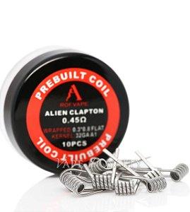 Resistência Alien Clapton (Pré Montada) - Rofvape