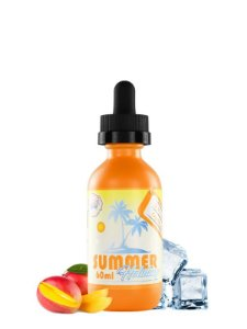 E-Liquid Summer Holidays Suntan Mango (60ml) - Dinner Lady