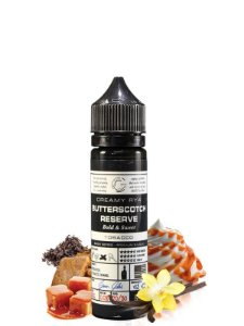 E-Liquid Basix Butterscotch Grand Reserve (60ml) - Glas