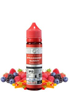 E-Liquid Basix Strawberry Gummy (60ml) - Glas