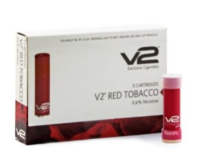 Kit de Cartuchos Red para Cigarro Eletrônico - (Pack com 5 Cartuchos) - V2