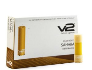 Kit de Cartuchos Sahara para Cigarro Eletrônico - (Pack com 5 Cartuchos) - V2