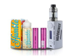 Combo Wye 200w + Humble Ice 120ml +2 Baterias Efest - VapoKings