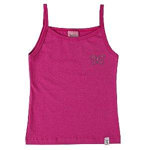 Blusa Pink com Alças