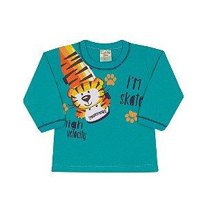 Camiseta em Meia Malha Tiger Ceramic