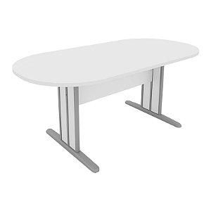Mesa para Reunião Oval Móveis Escritório 2,00 x 0,90 x 0,74 m 18 mm