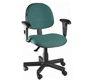 Cadeira Escritório Home Office Executiva Giratória Braço Regulavel
