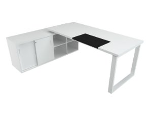 Mesa Em L Diretiva Executiva 36 Mm 1,60 x 1,60 M Home Office