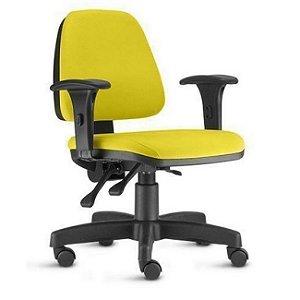 Cadeira Executiva Escritório Home Office Braços Reguláveis Ergonômica Corporativa