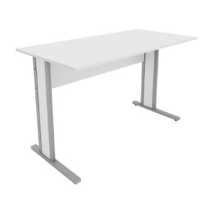 Mesa para Escritório Corporativa Home Office Reta 1,60 X 0,60 M 15 mm