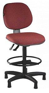 Cadeira Caixa Alta Executiva Ergonômica Aro Back System Supermercado Padaria Recepção